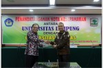Unand and Unila Strengthen Cooperation in Health Sector