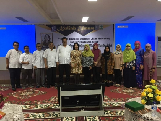 Kuliah Umum Dari Senior Social Protection Specialist World Bank