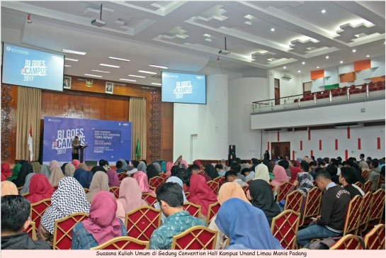 BI Goes to Campus Hadir di Unand