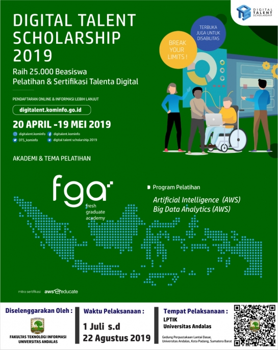 Digital Talent Scholarship Tahun 2019 (DTS 2019)