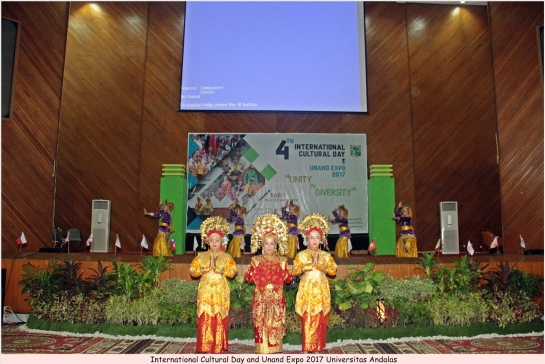 Unand Gelar International Culture Day & Expo 2017