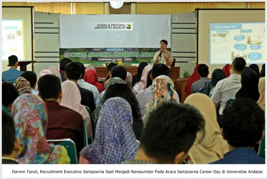 PT. HM Sampoerna Tbk Gelar Sampoerna Career Day di Universitas Andalas